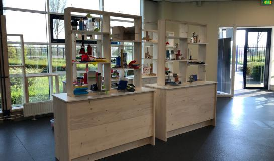 Up-to-date showroom voor BOVI salespromotion